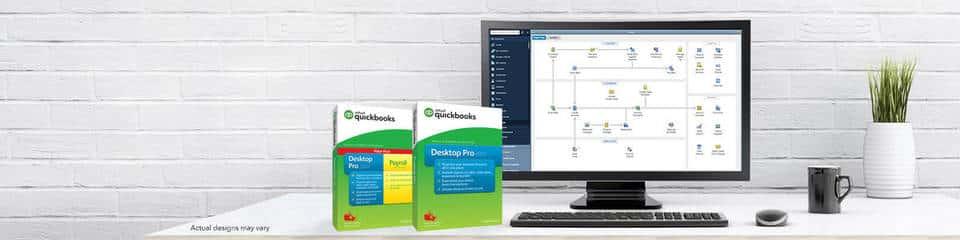 QuickBooks Desktop Pro + Payroll Hero