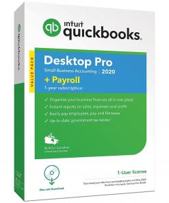 QuickBooks Desktop Pro + Payroll 2020